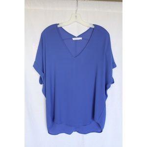 Blue Lush kimono sleeve blouse